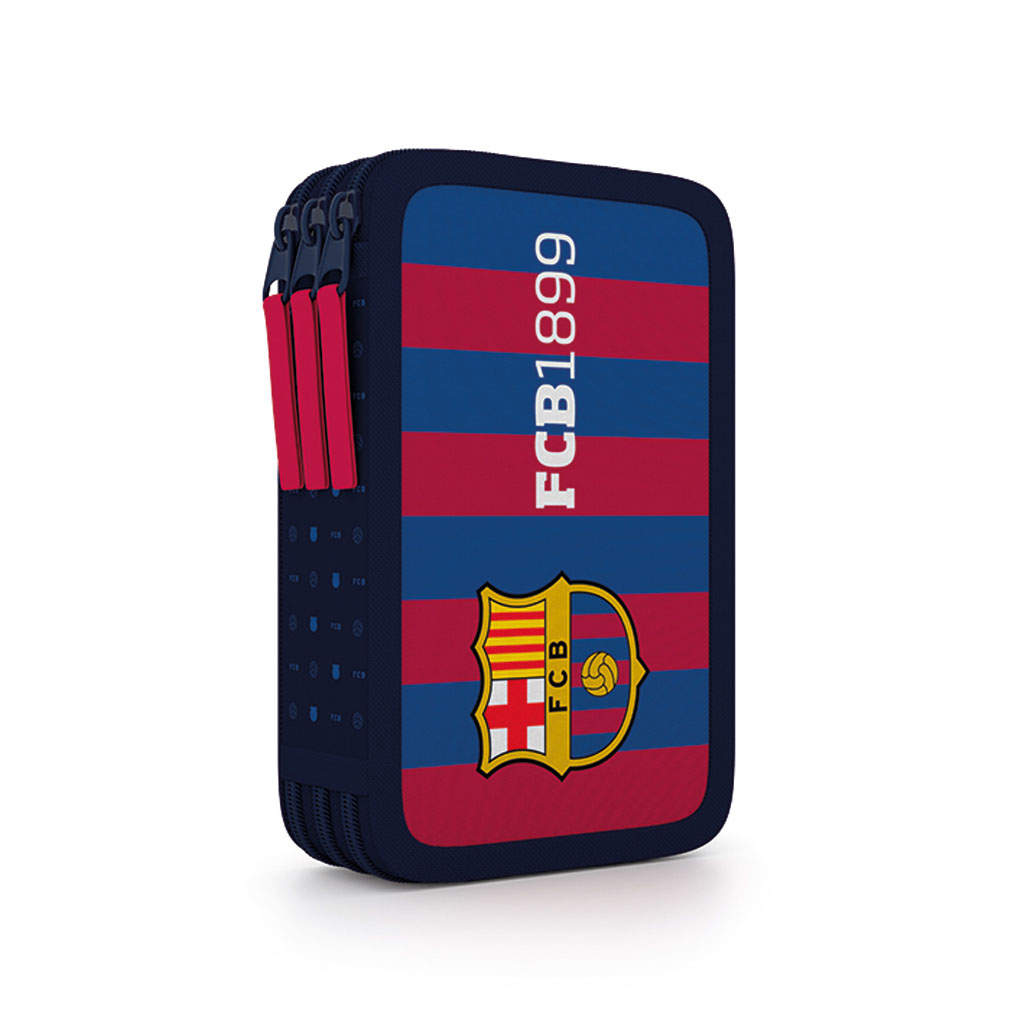 Peračník 3 zip. prázdny - FC Barcelona /7-92018/