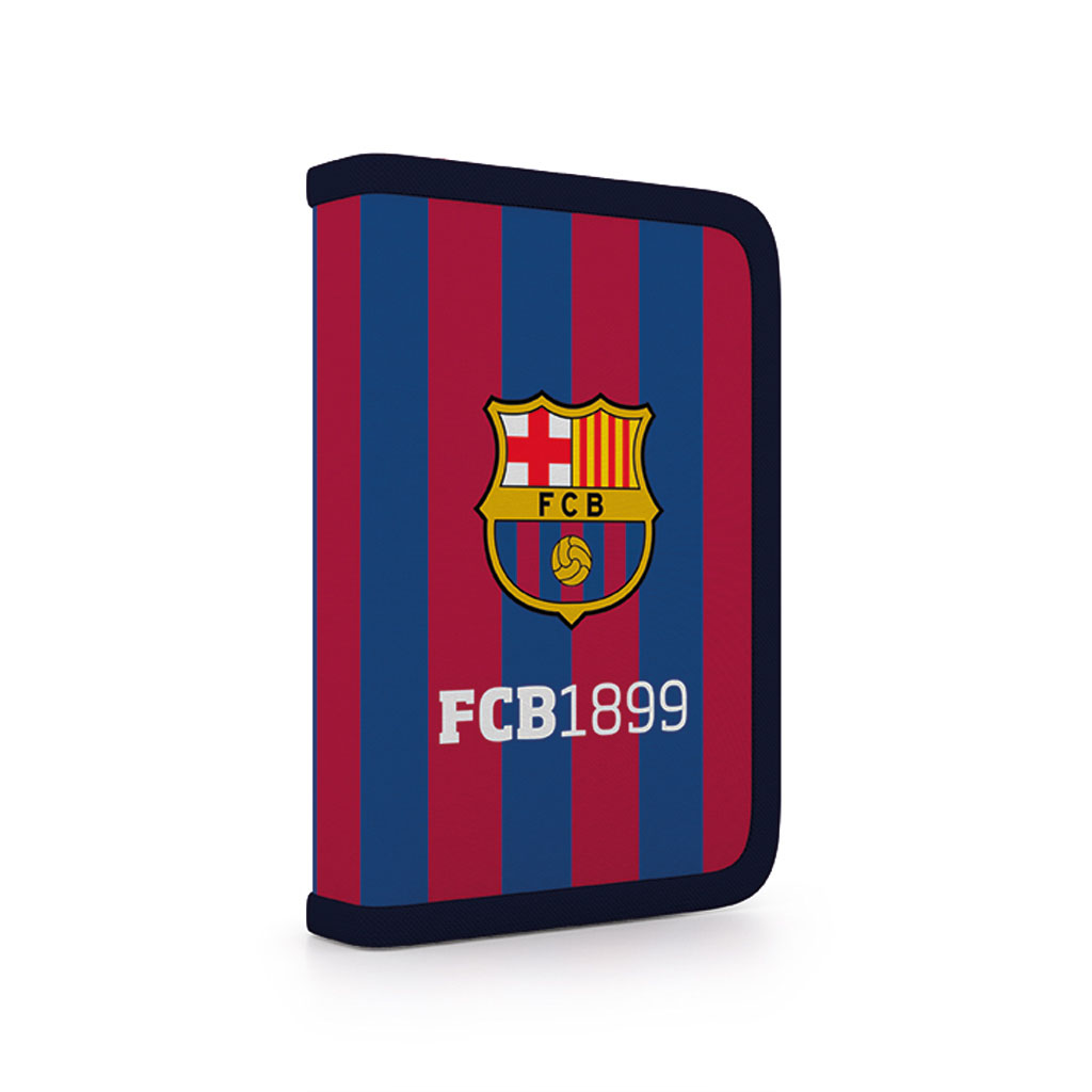 Peračník 1 zip. s dvomi chlopňami prázdny - FC Barcelona /1-54718/