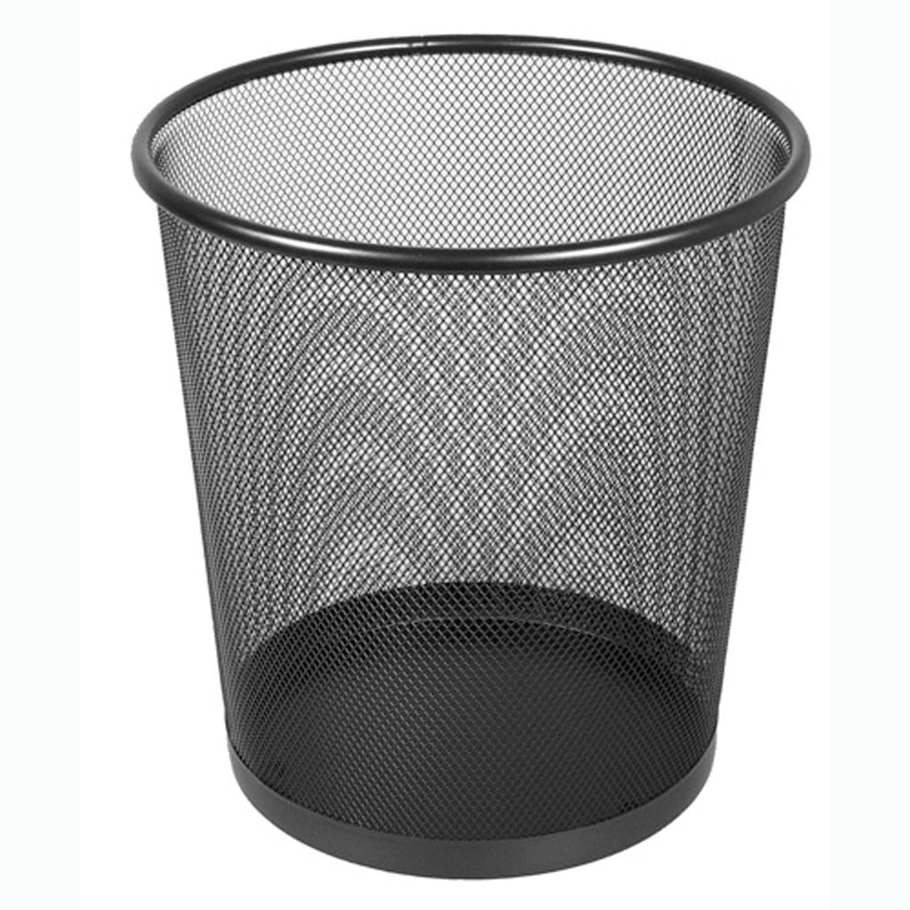 Drôt. kôš odpadk. veľký DKC1396 čierny - 18l