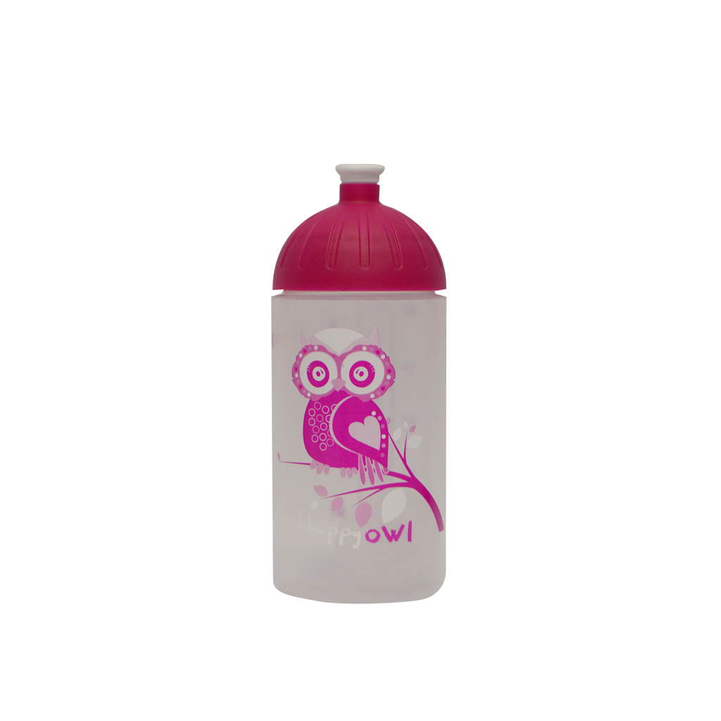 Fľaša na pitie Fresh - Sova /3-447/