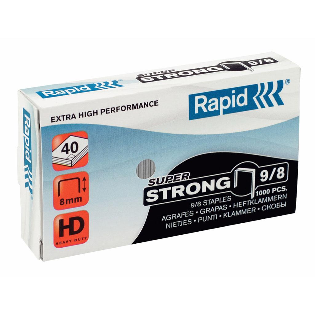 Rapid spinky zošívacie Super Strong 9/8, pre Rapid Fashion HD210