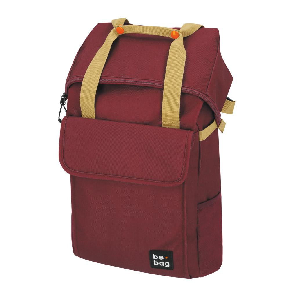 Batoh be.bag flexible - červený
