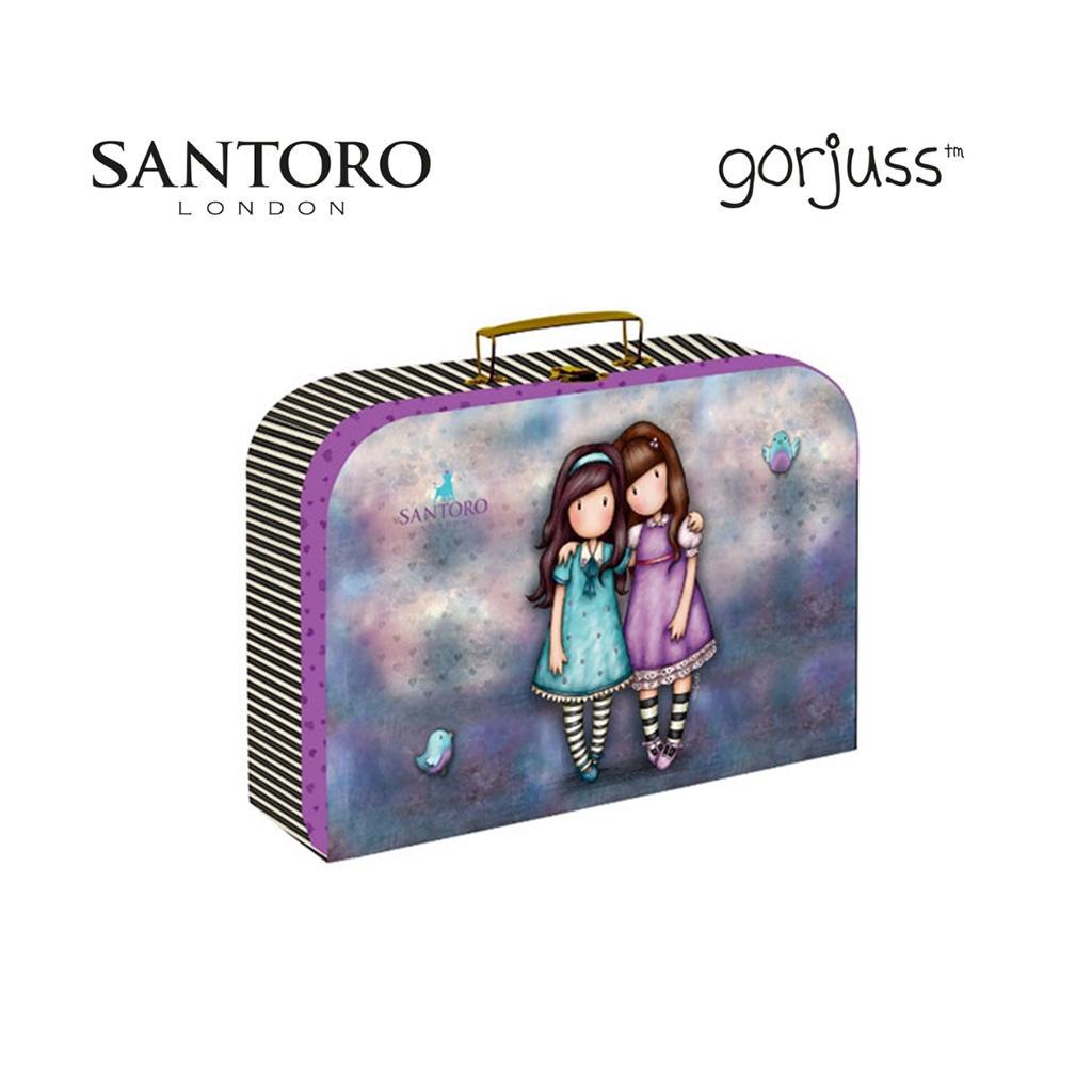 Detský kufrík veľký lamino - Gorjuss Friends Walk Together /5-64019/