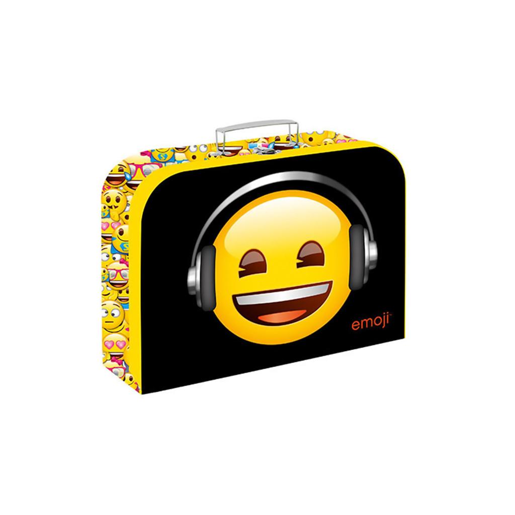 Detský kufrík veľký lamino - Emoji /5-66419/