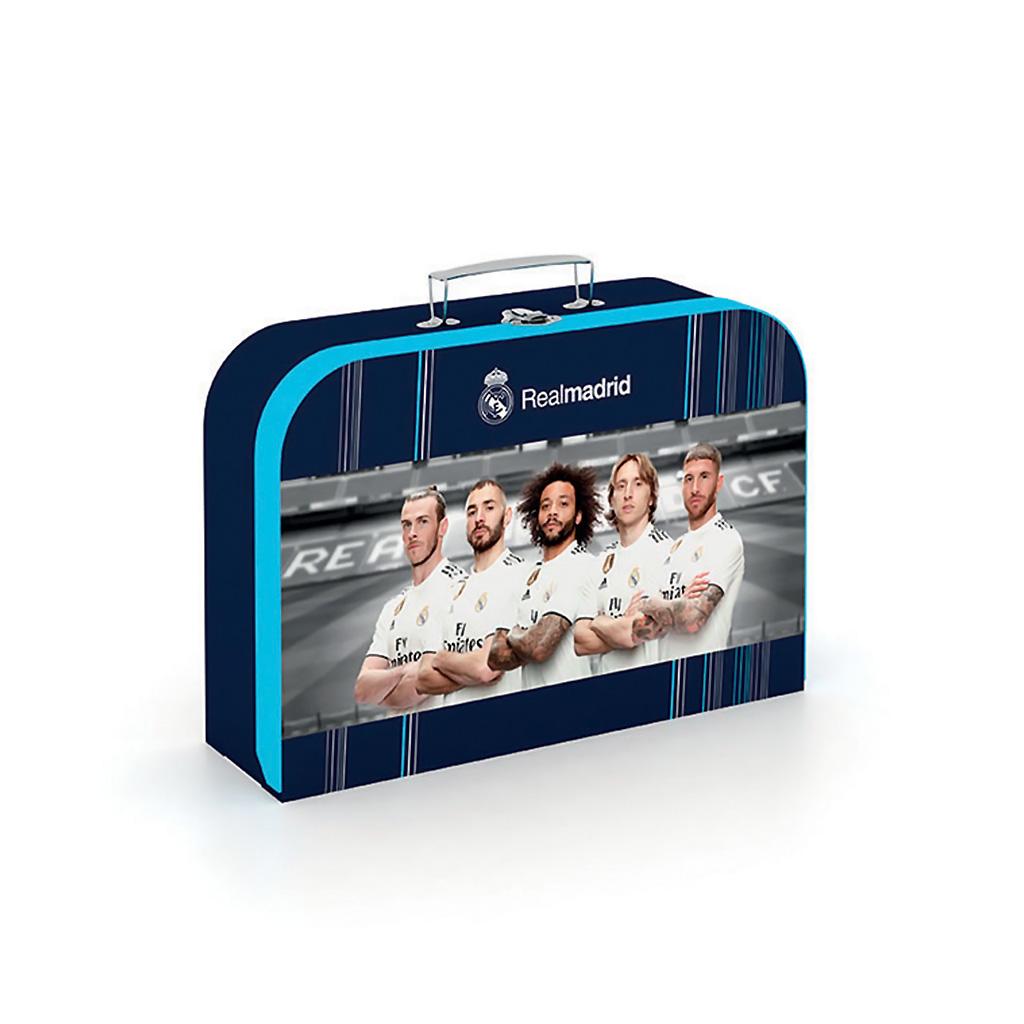 Detský kufrík veľký lamino - Real Madrid /5-64119/