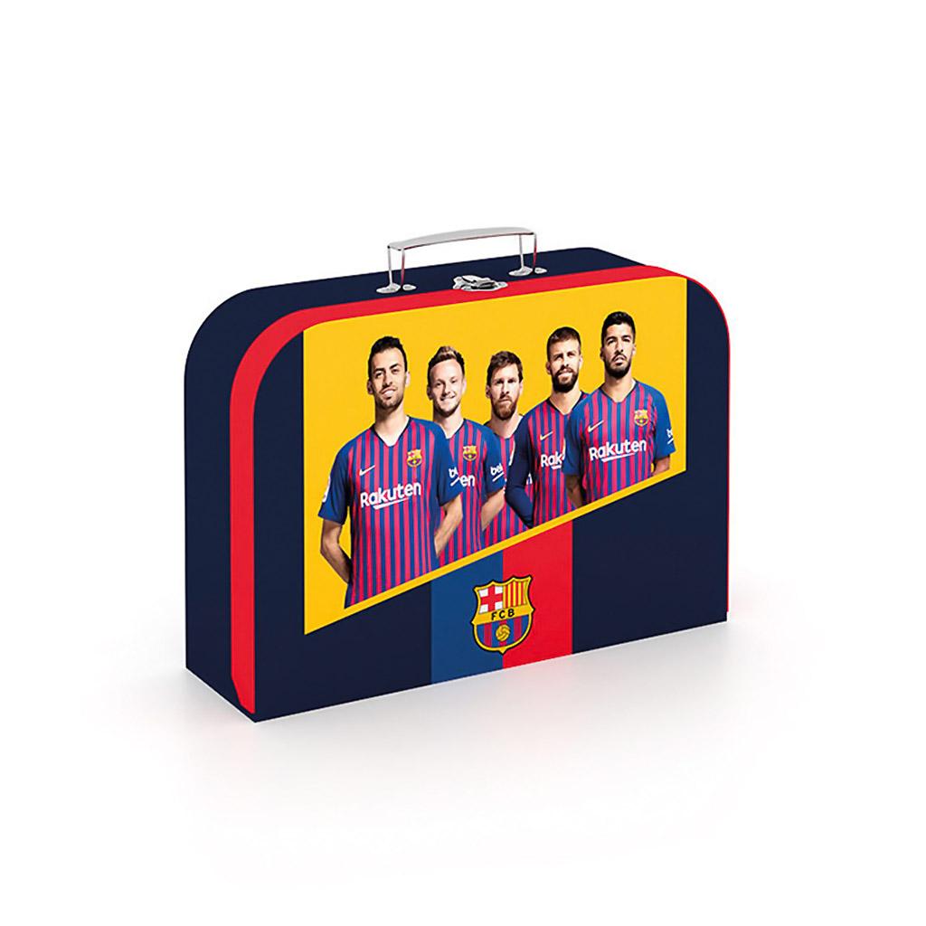 Detský kufrík veľký lamino - FC Barcelona /1-84319/