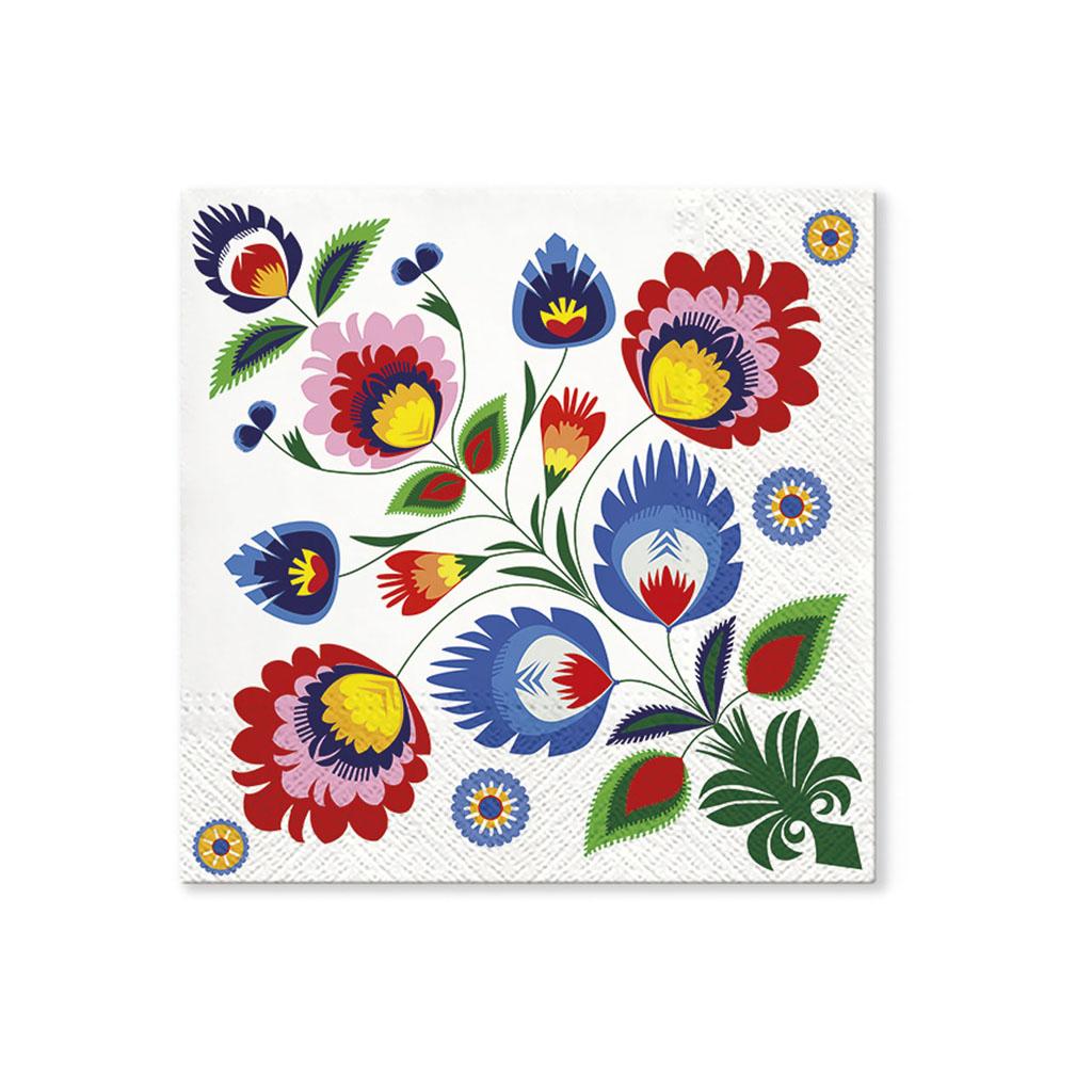Papier. obrúsky 33 x 33 cm, mix motívov
