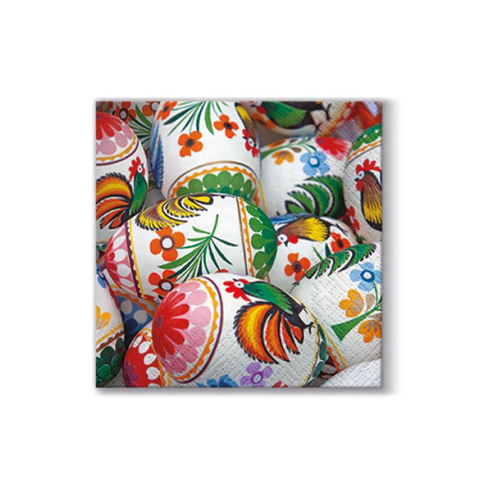 Papier. obrúsky 33 x 33 cm, veľkonočné  - mix motívov
