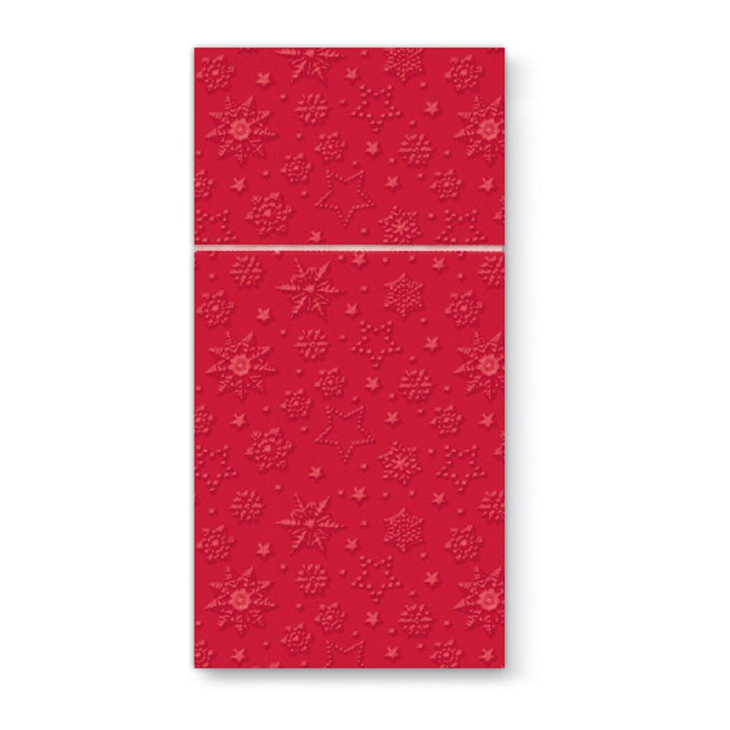 Papierové vrecko na príbor 40 x 40 cm - balenie 16 ks
