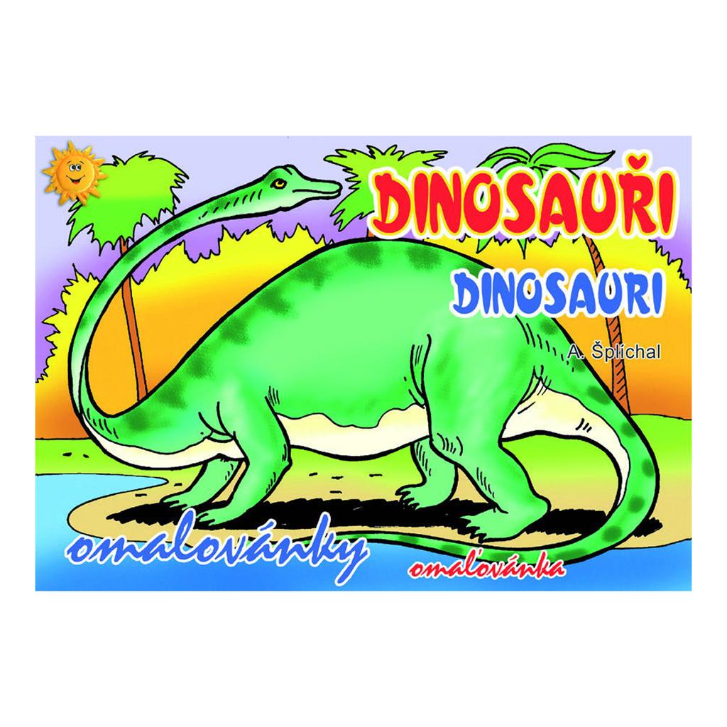 Omaľovanka A5 - Dinosaury