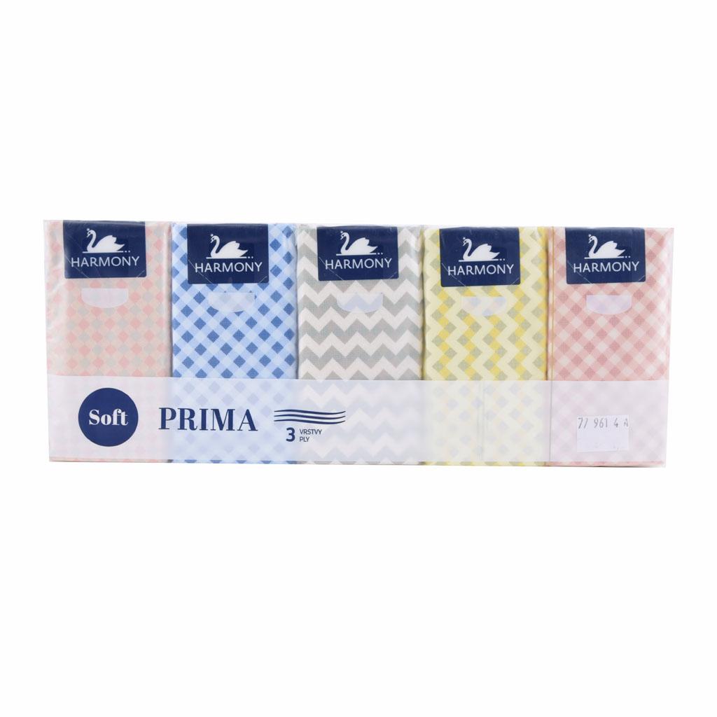 Hygien.vreckovky Harmony Prima 10x10 / 3 vrst. - balenie 10 ks