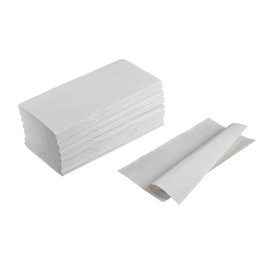 Papier. utierky sklad. ZZ / 250 ks šedé - B kv.