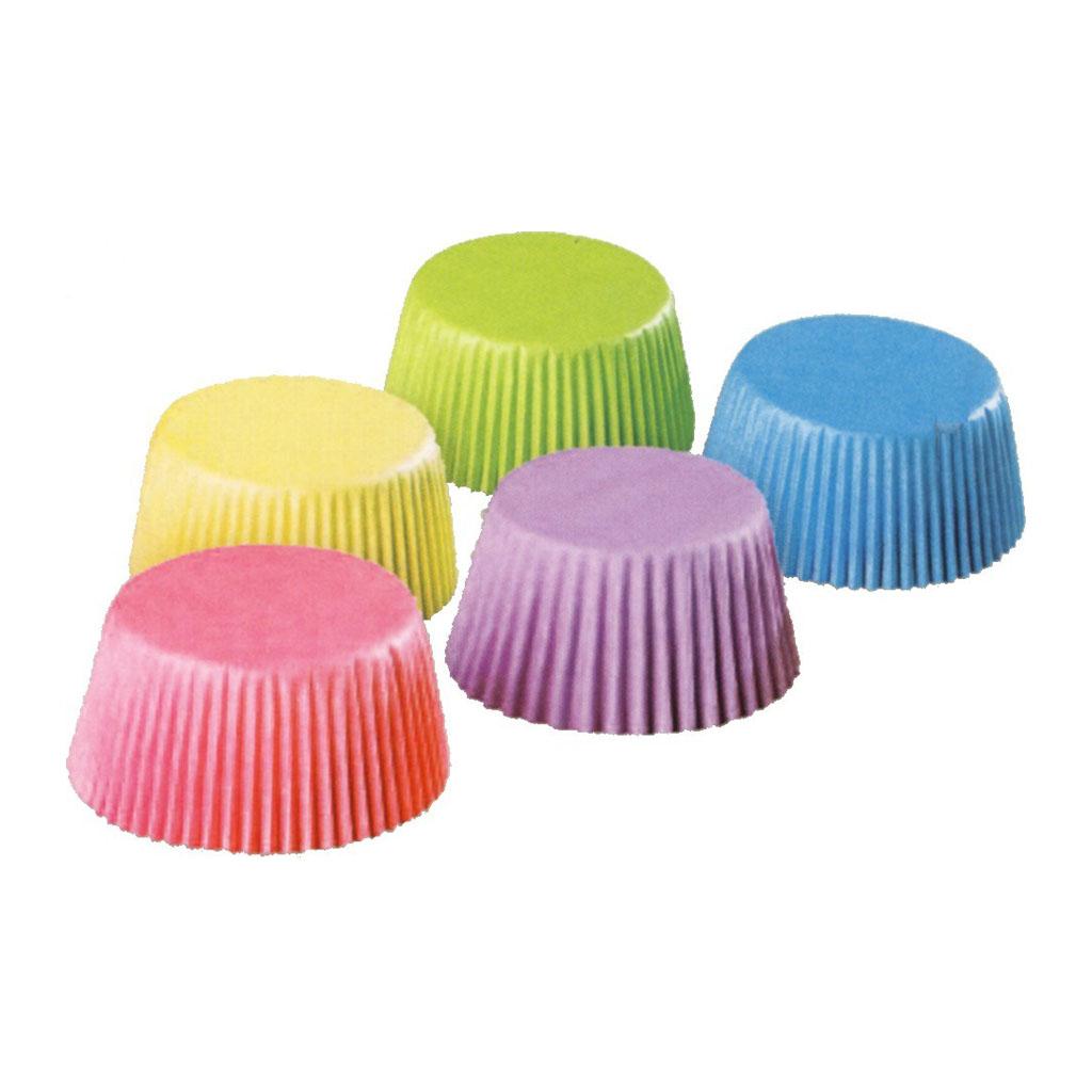 Košíčky farebné veľké 35mm x 20 mm / 100ks