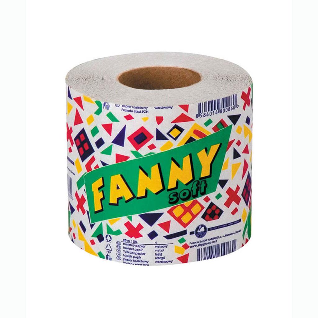 Toaletný papier Fanny 1 vrst.