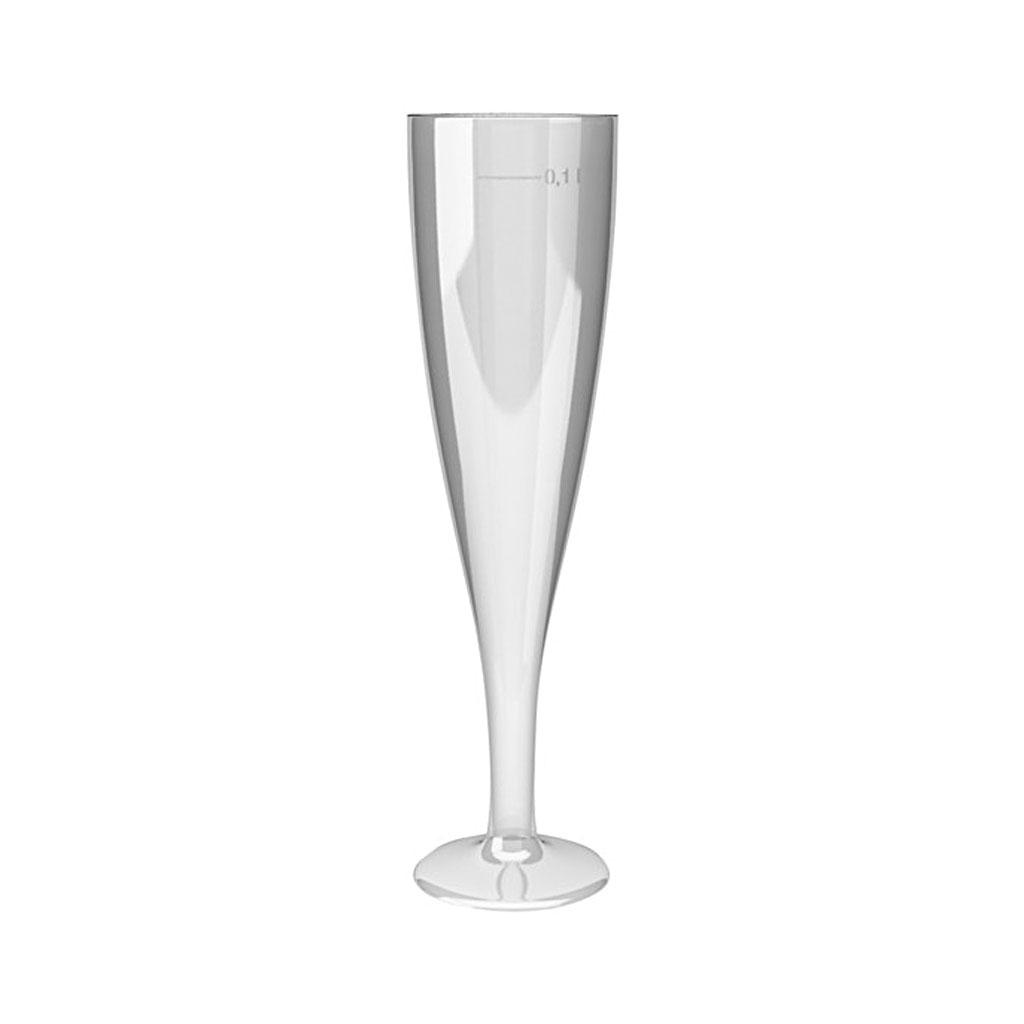 Pohár na šampanské 100 ml / 6 ks