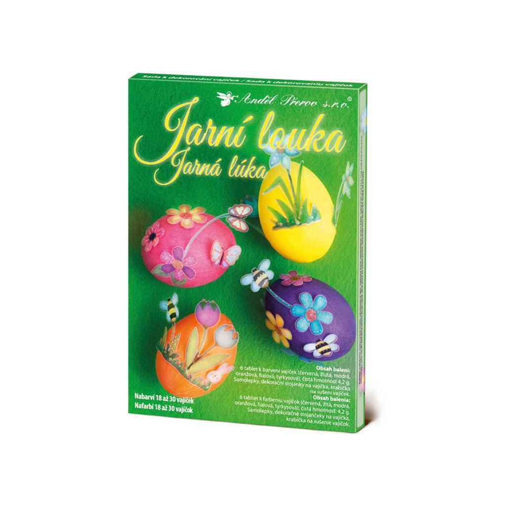 Sada k dekorovaniu vajíčok 7715 - jarná lúka