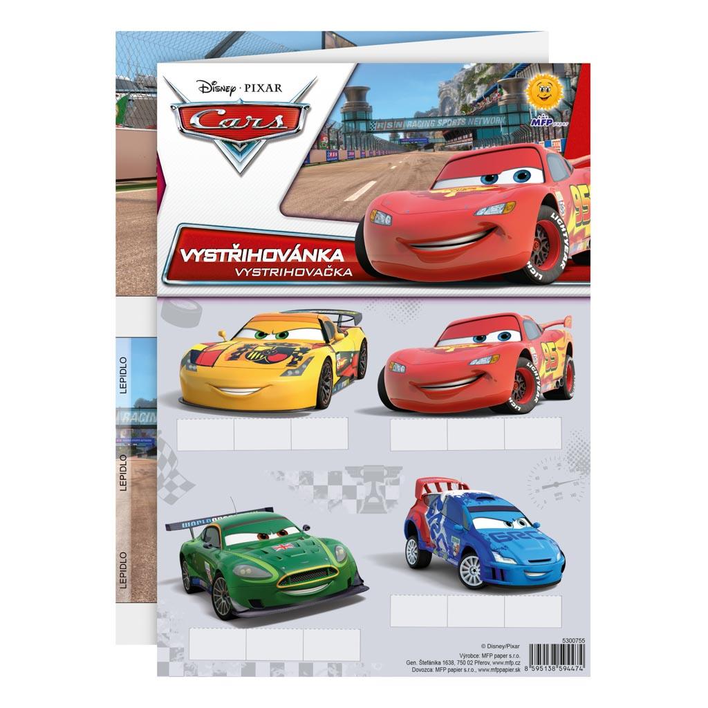 Vystrihovačky A4 - Disney Cars