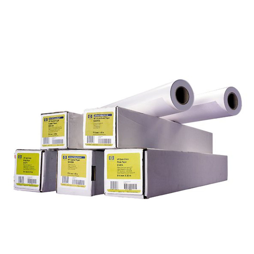 "Papier plotrový HP Q8922A Everyday Instant-dry Satin Photo Paper 42"", 1067 mm x 30,5 m, 235 g/m2"