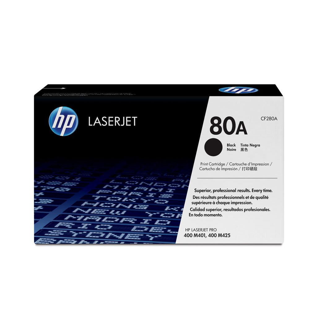 Toner HP CF280A No.80A pre LaserJet Pro 400 M401, MFP M425 (2.700 str.)