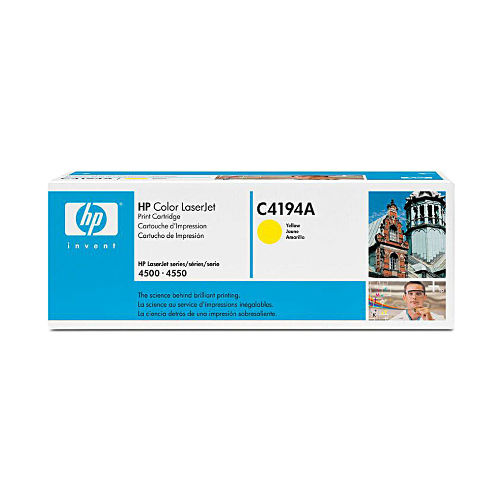 Toner HP C4194A pre Color LaserJet 4500, 4550 (6.000 str.) Yellow