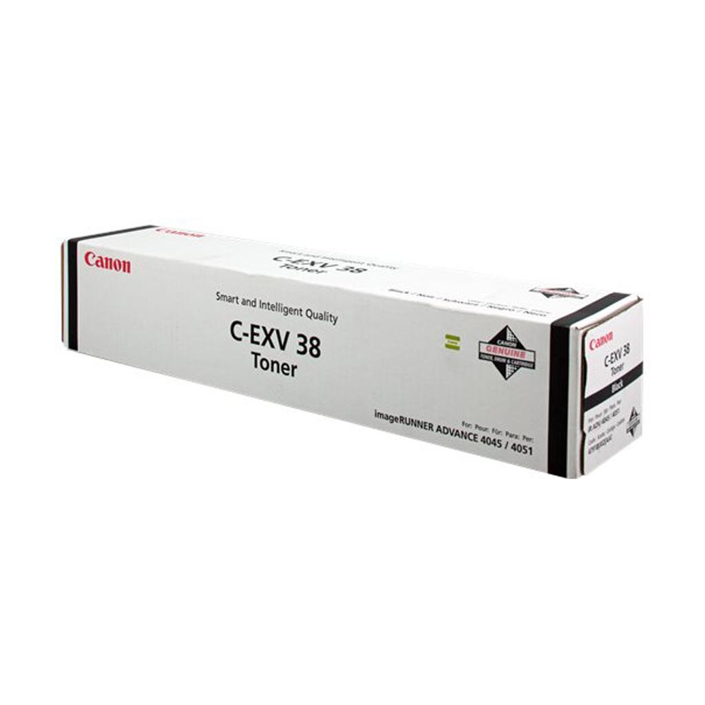 Toner Canon C-EXV38 pre iRA 4045i, iRA 4051i, iRA 4245i, iRA 4251i (34.200 str.) Black
