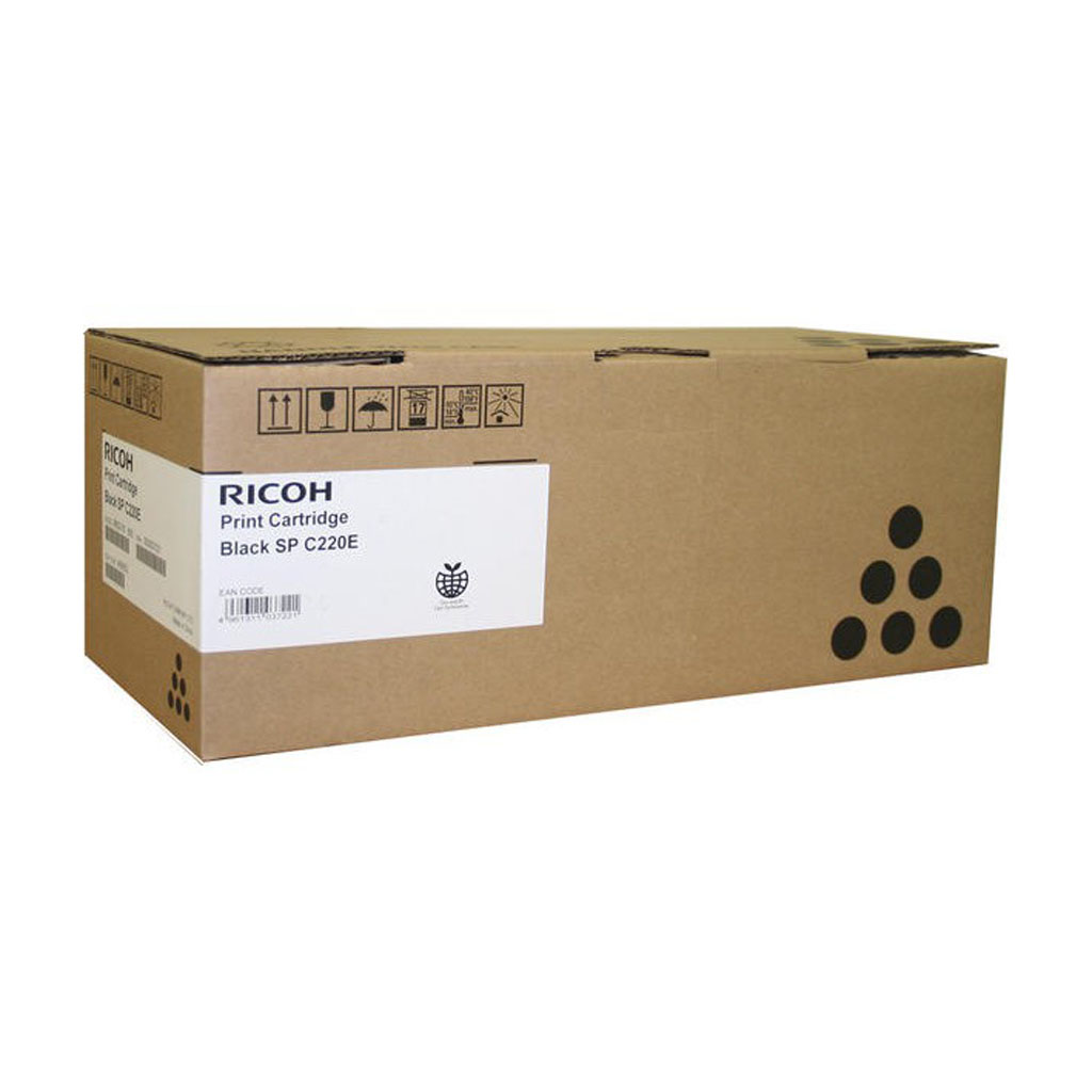 Toner Ricoh pre Aficio SPC220N, SPC220S, SPC221N, SPC221SF, SPC222 (2.000 str.) Black
