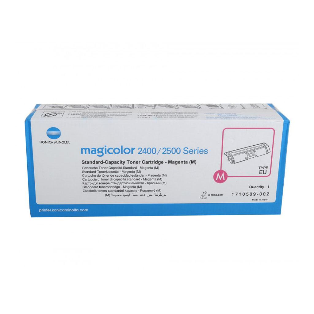 Toner Minolta 1710589-002 pre MC 2400, 2430, 2450, 2480, 2490, 2500, 2530 (1.500 str.) Magenta