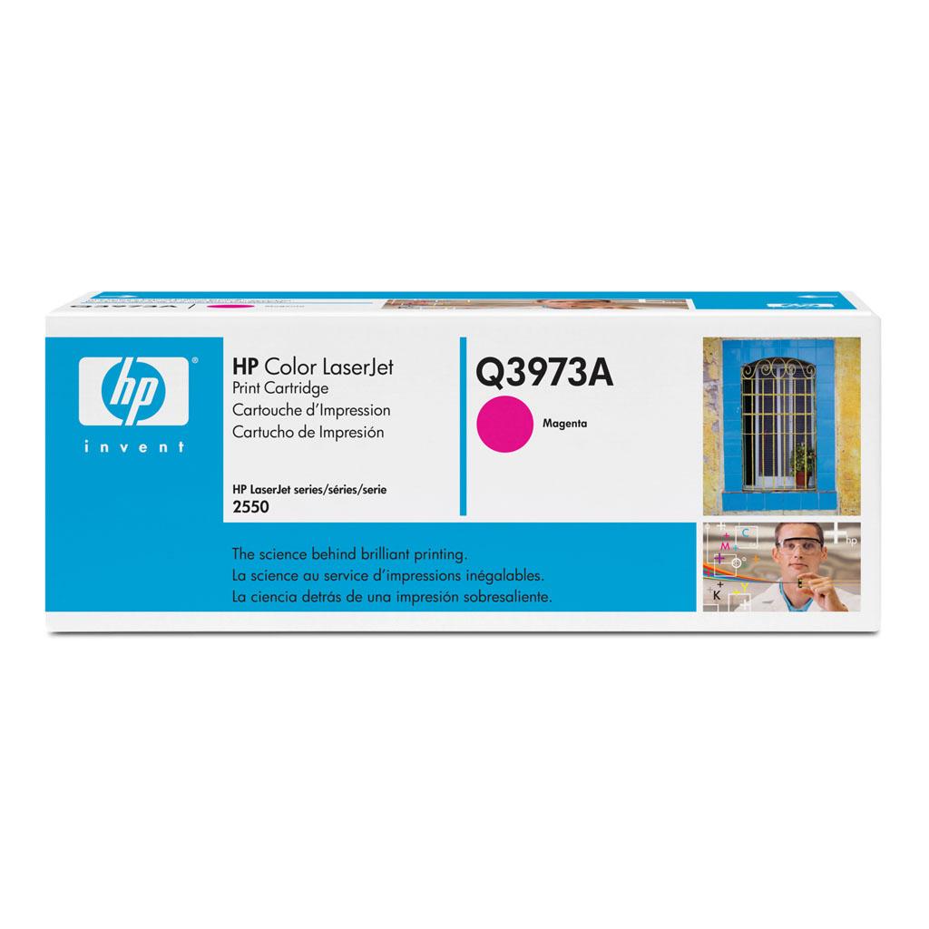 Toner HP Q3973A No.123A pre CLJ 2550, 2820, 2840 (2.000 str.) Magenta