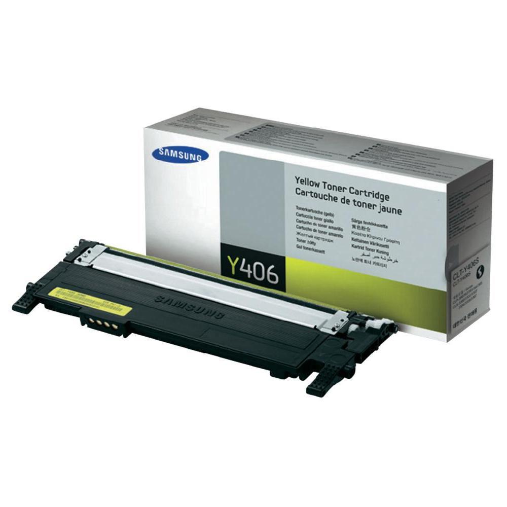 Toner Samsung CLT-Y406S pre CLP 360, 365, CLX 3300, 3305 (1.000 str.) Yellow