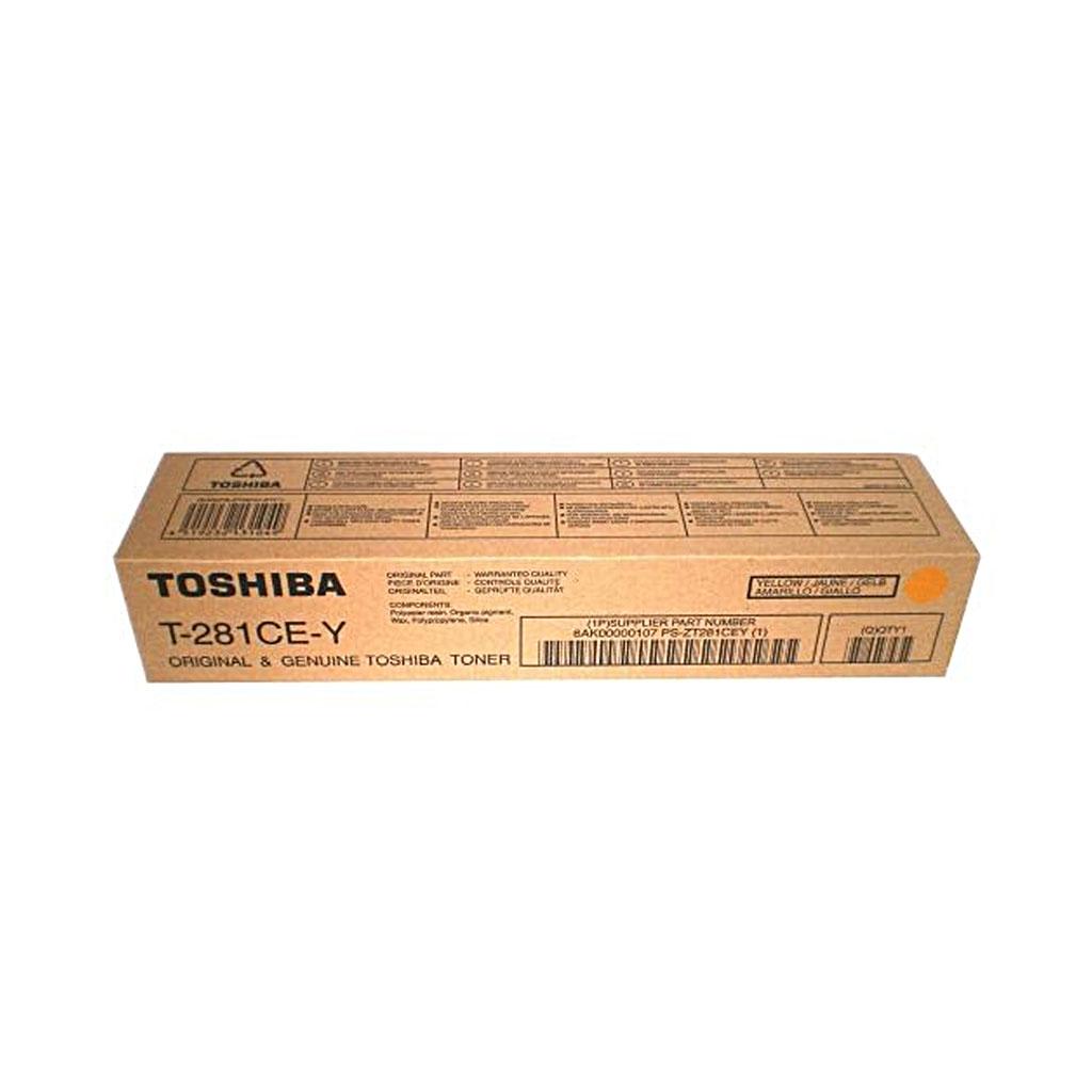 Toner Toshiba T-281c pre e-STUDIO281c, 351c, 451c (10.000 str.) Yellow