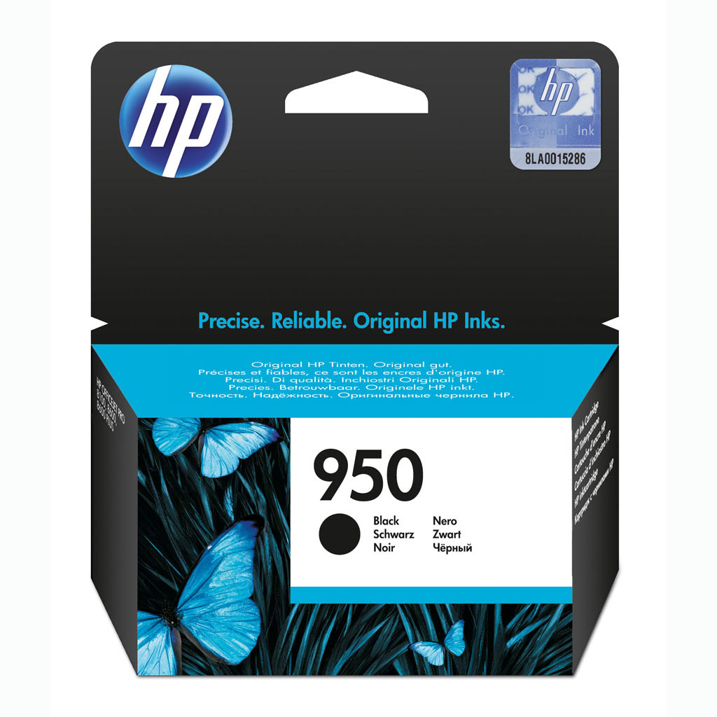 Inkjet HP CN049AE No.950 pre OfficeJet Pro 8100, OfficeJet Pro 8600 (1.000 str.) Black