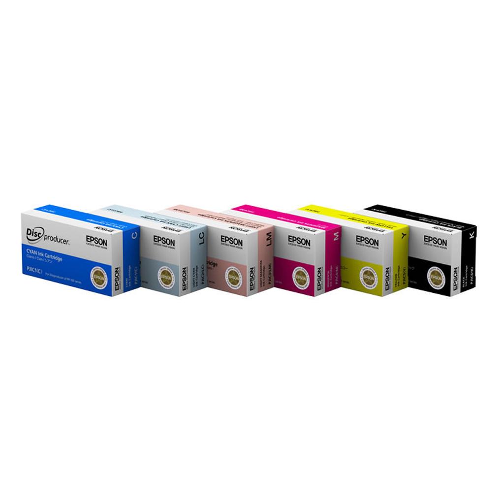Inkjet Epson PJIC1(C) pre Discproducer PP-50, PP-100 (32 ml) Cyan