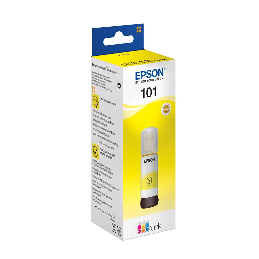Inkjet Epson C13T03V44A pre EcoTank L4150, L4160, L6160, L6170, L6190 - 70ml (6.000 str.) Yellow