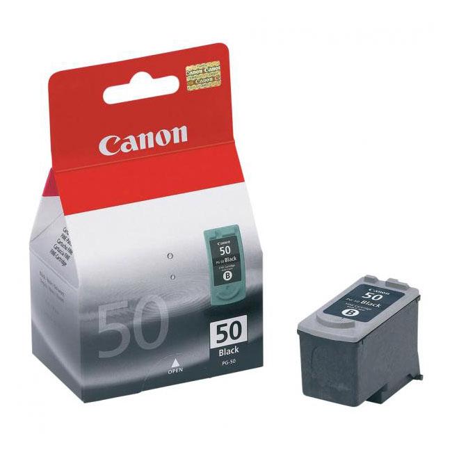 Inkjet Canon PG-50 pre Pixma MP 150, 160, 170, 180, 450, 460 (800 str.) black