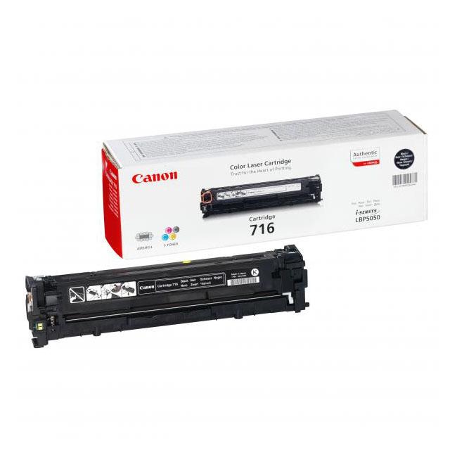 Toner Canon CRG-716 pre LBP 5050, 5050N, MF 8030CN, 8050CN (2.300 str.) Black