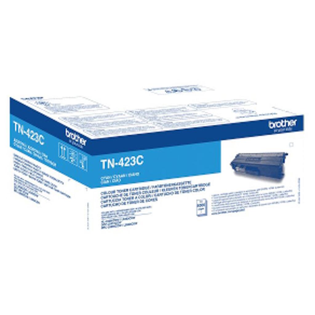 Toner Brother TN-423 pre HL-L8260CDW, DCP-L8410CDW, MFC-L8690CDW/L8900CDW (4.000 str.) Cyan