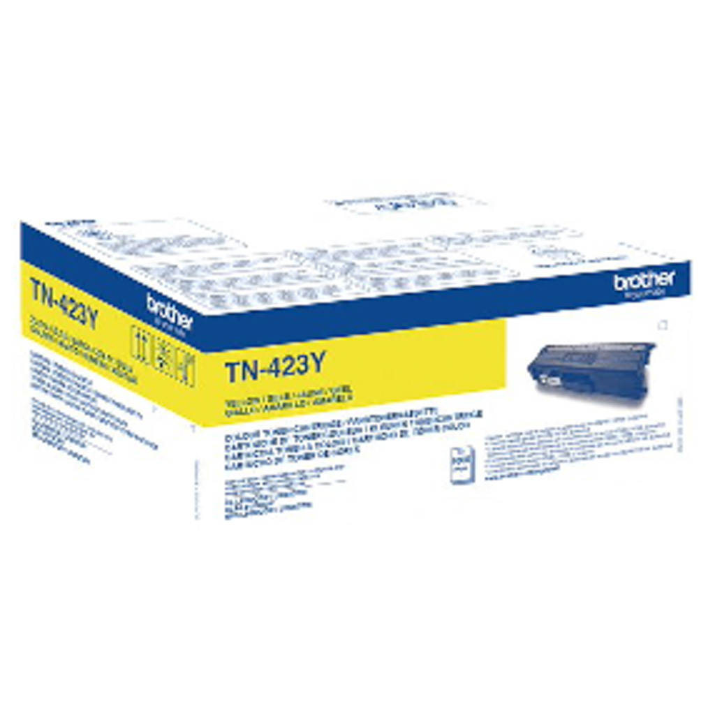 Toner Brother TN-423 pre HL-L8260CDW, DCP-L8410CDW, MFC-L8690CDW/L8900CDW (4.000 str.) Yellow