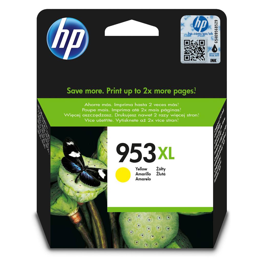 Inkjet HP F6U18AE No.953XL pre OJ Pro 8218, 8710, 8720, 8730, 8740 (1.600 str.) Yellow XL