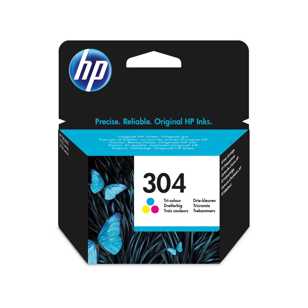Inkjet HP N9K05AE No.304 pre DeskJet 2620, 2630, 2632, 2633, 3720, 3730 (100 str.) farebný