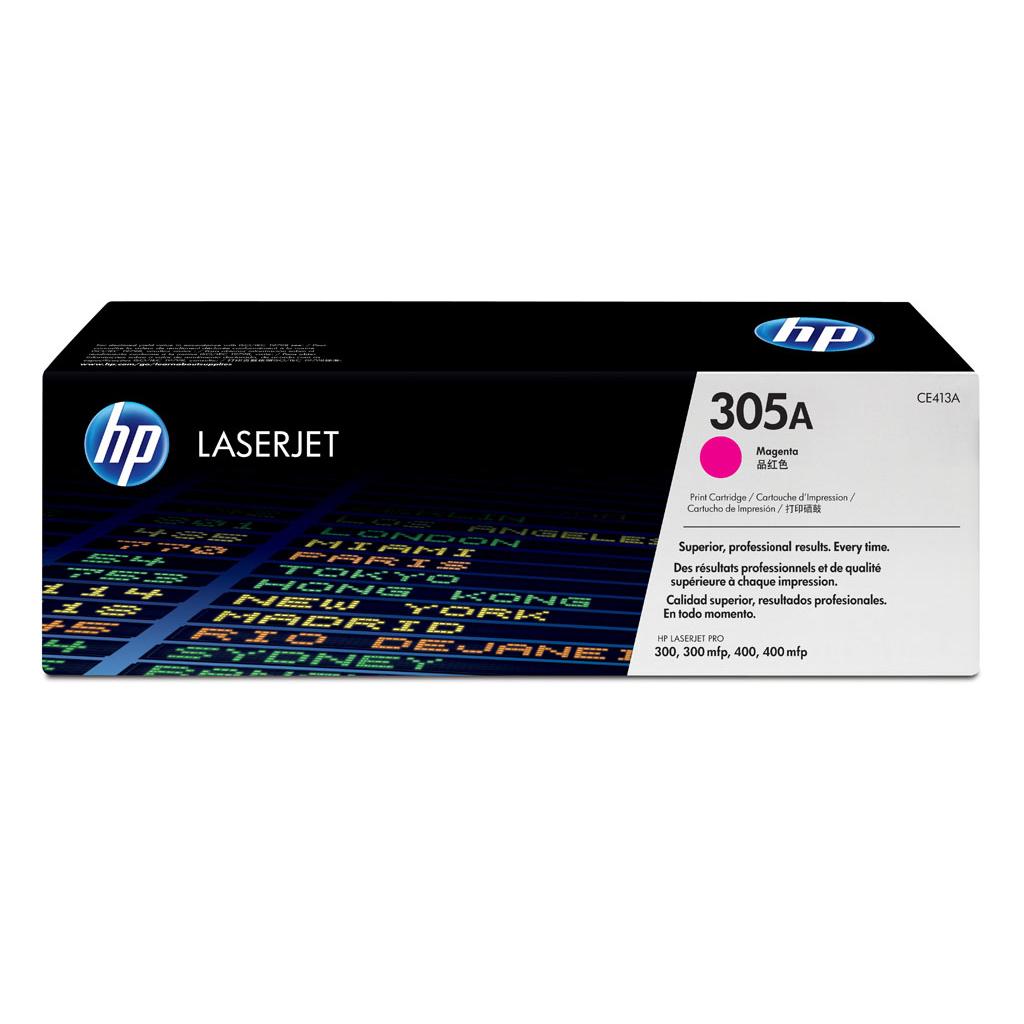 Toner HP CE413A No.305A pre LaserJet Pro300 M351a, M451, M475 (2.600 str.) Magenta