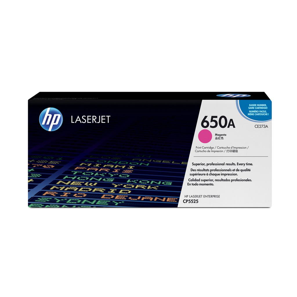 Toner HP CE273A No.650A pre HP LaserJet CP5525 (15.000 str.) Magenta
