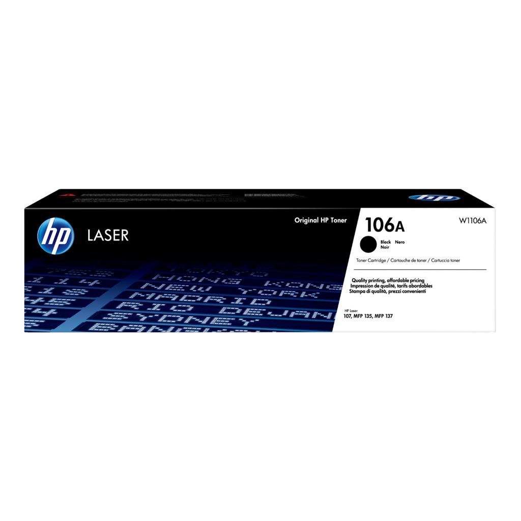 Toner HP W1106A No.106A pre Laser 107, MFP 135, MFP 137 (1.000 str.)