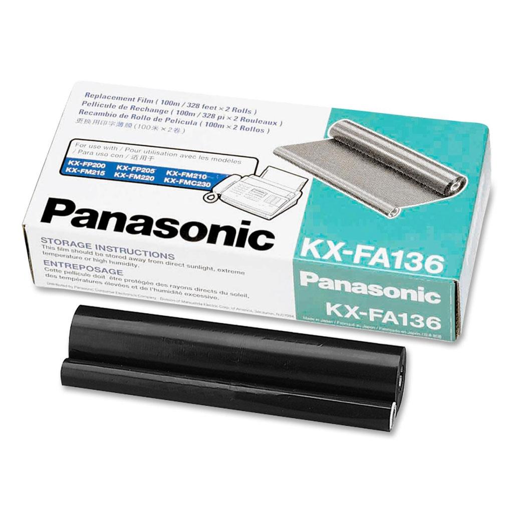 Fólia Panasonic KX-FA136 pre KX-F1010, 1015, KX-FM131, KX-FP302 (bal.2ks)