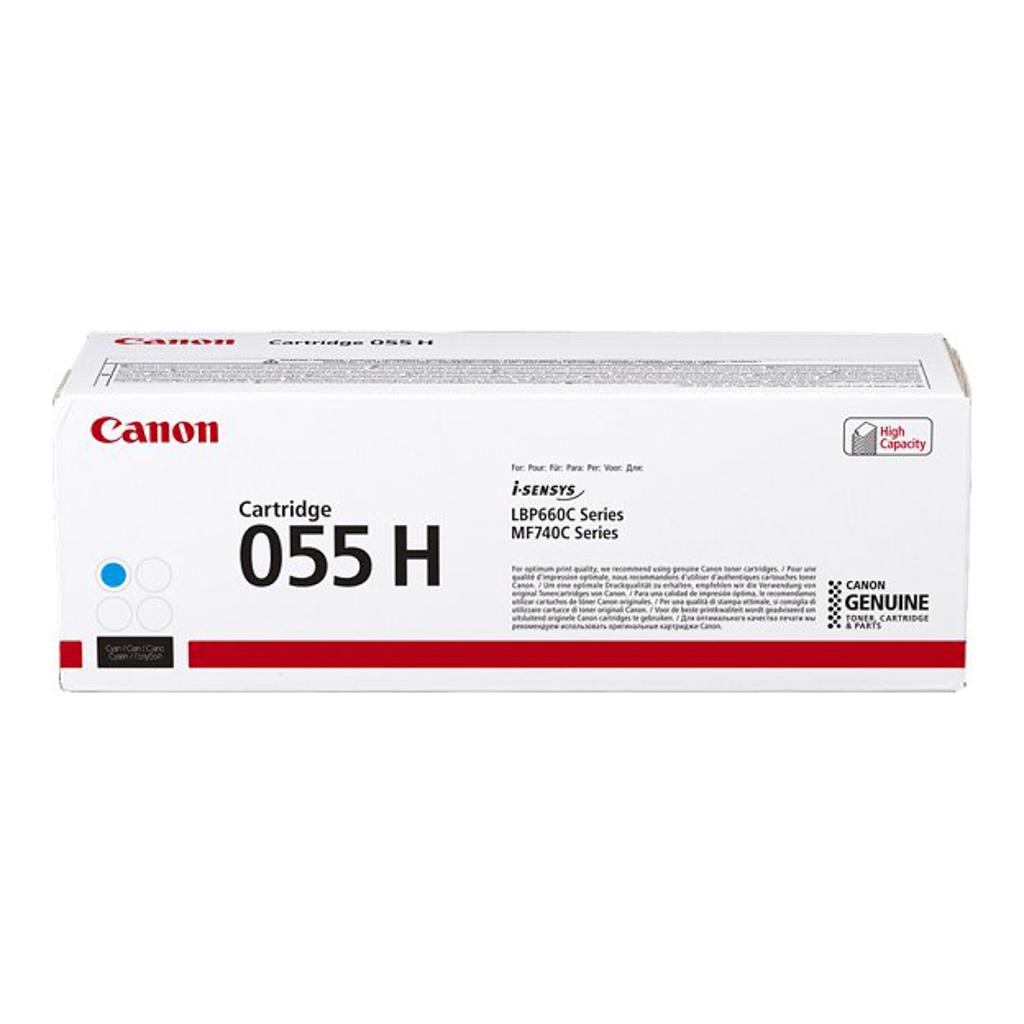 Toner Canon CRG-055H pre i-SENSYNS LBP663Cdw, MF742Cdw (5.900 str.) Cyan