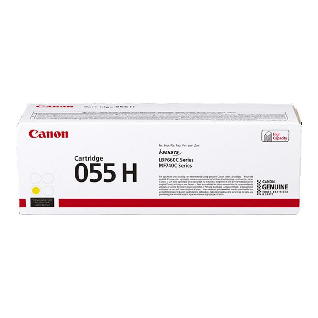 Toner Canon CRG-055H pre i-SENSYNS LBP663Cdw, MF742Cdw (5.900 str.) Yellow
