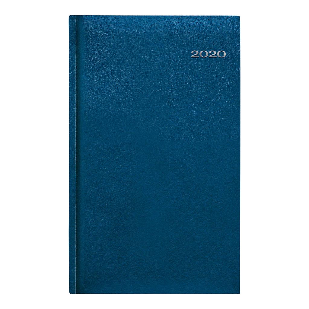 Vreck. diár KRONOS modrý 2020 (90x150 mm)