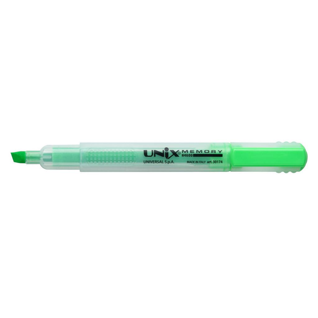 Carioca/Corvina Memory zvýrazňovač 5,5mm, vodná báza, zelený