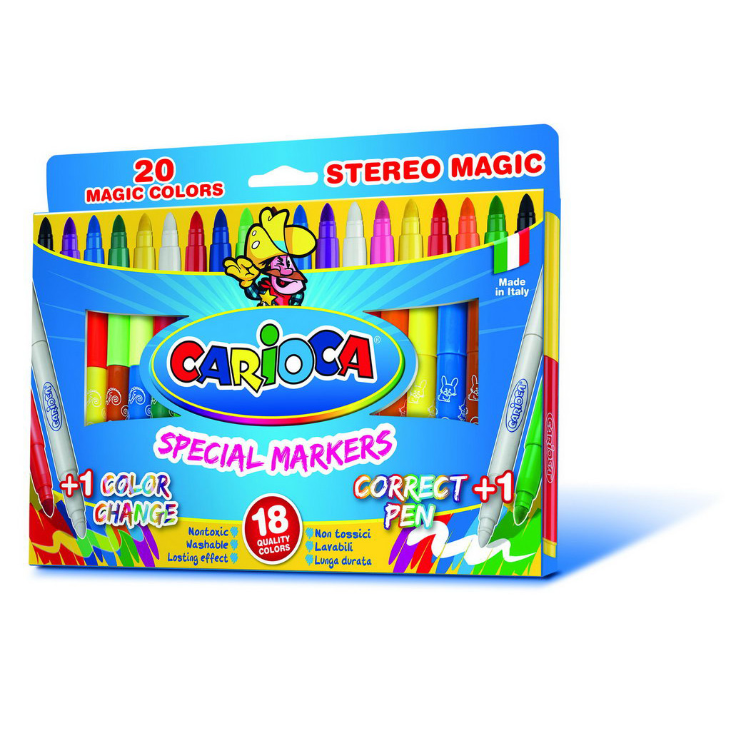Carioca Fixky prepisovateľné Magic / 20ks