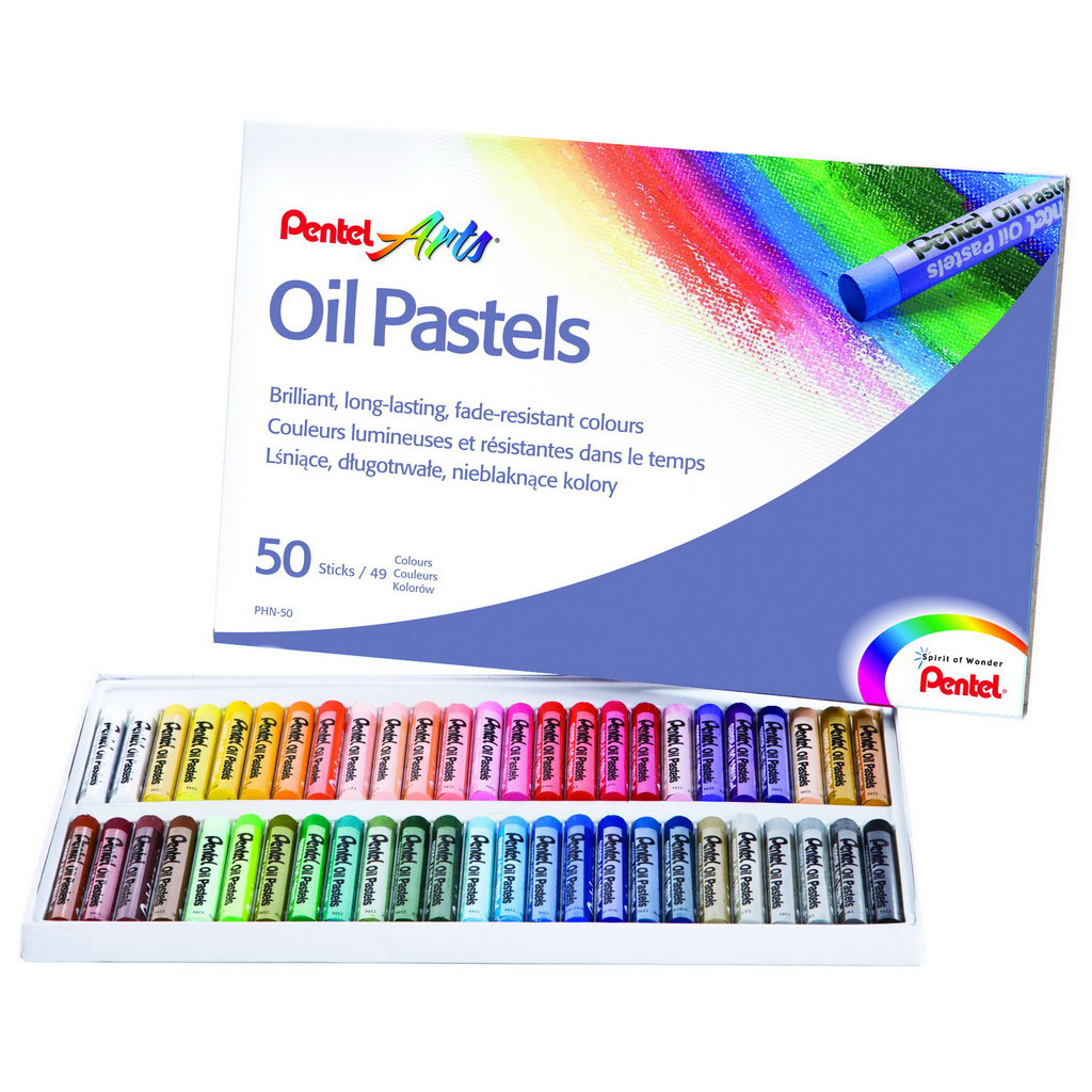 Pentel Arts Olej. pastely PHN-50 / 50 ks