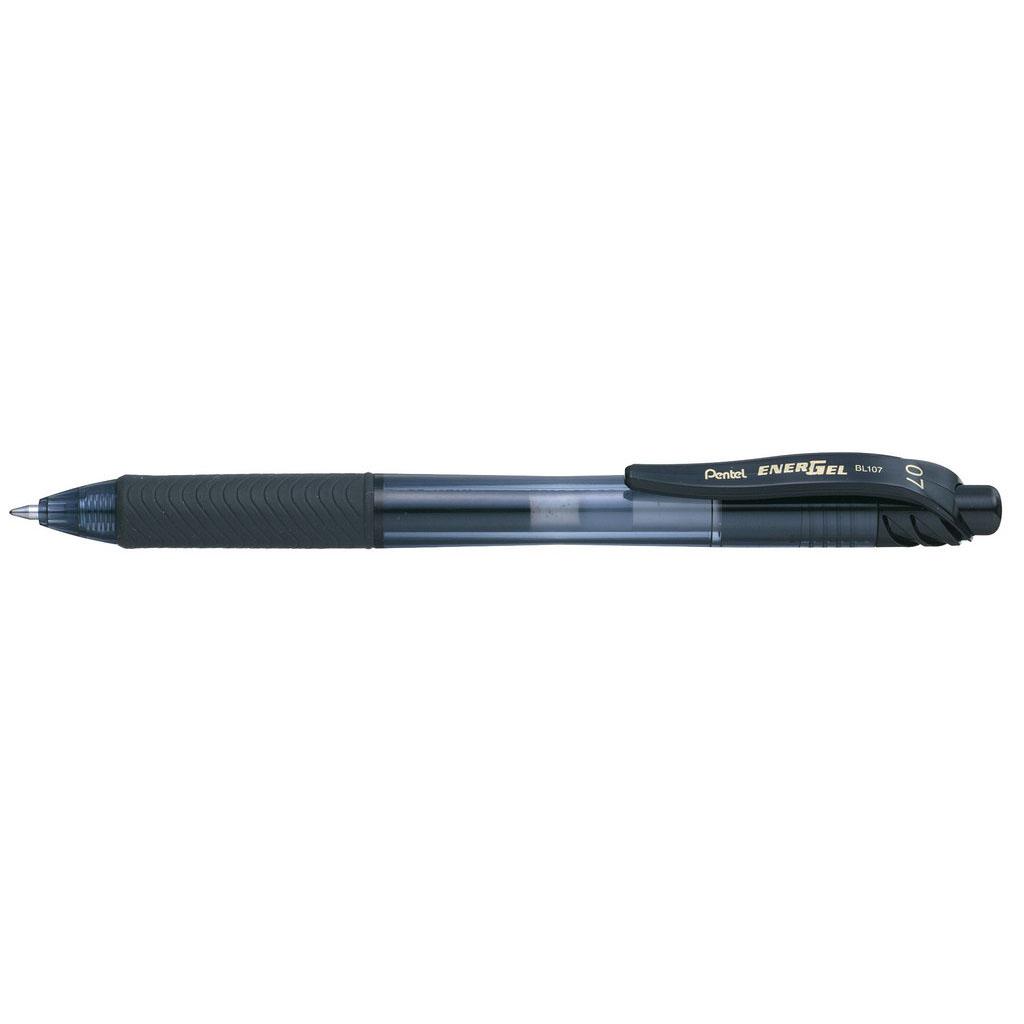 Pentel Gelový roller Energel-X BL107A-A, čierna